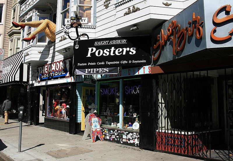 Jedna z ulic hippisowskiej dzielnicy Haight-Ashbury