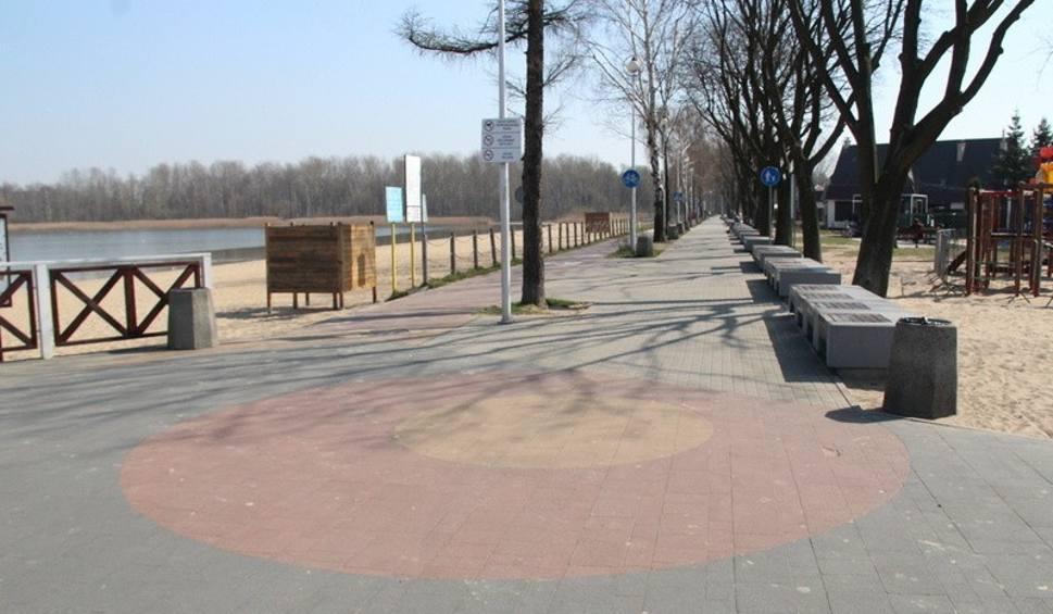 Film do artykułu: Nad Pogorią III w Dąbrowie Górniczej pusto. Mieszkańcy Zagłębia zostali w domach. Zobaczcie zdjęcia
