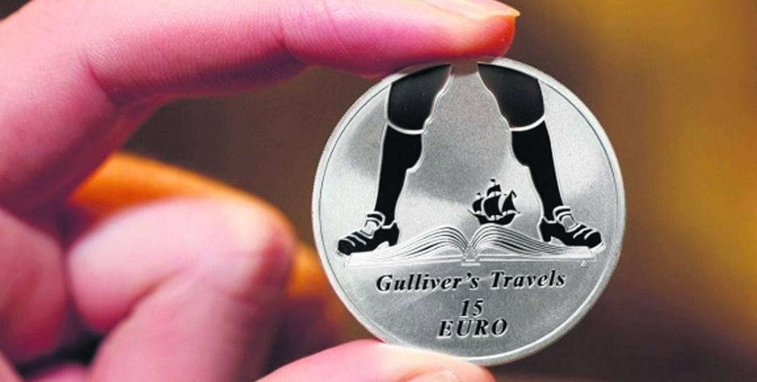Tak wygląda moneta stworzona przez dr. Sebastiana Mikołajczyka.