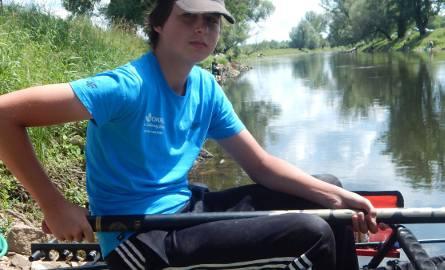 """15-letni Michał Małyszko (na zdjęciu) z Lubska we wtorek o godz. 13.30 był na prowadzeniu w kategorii """"juniorzy"""". Na jego koncie było 827 punktów. Tuż"""