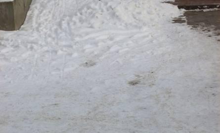 Problem zaśnieżonego podjazdu rozwiązany, pomogły zdjęcia internauty