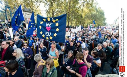 Setki Tysięcy Brytyjczyków protestowało na ulicach Londynu