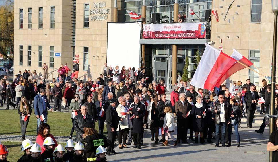 Film do artykułu: Morawica świętowała setną rocznicę odzyskania przez Polskę niepodległości [ZDJĘCIA]