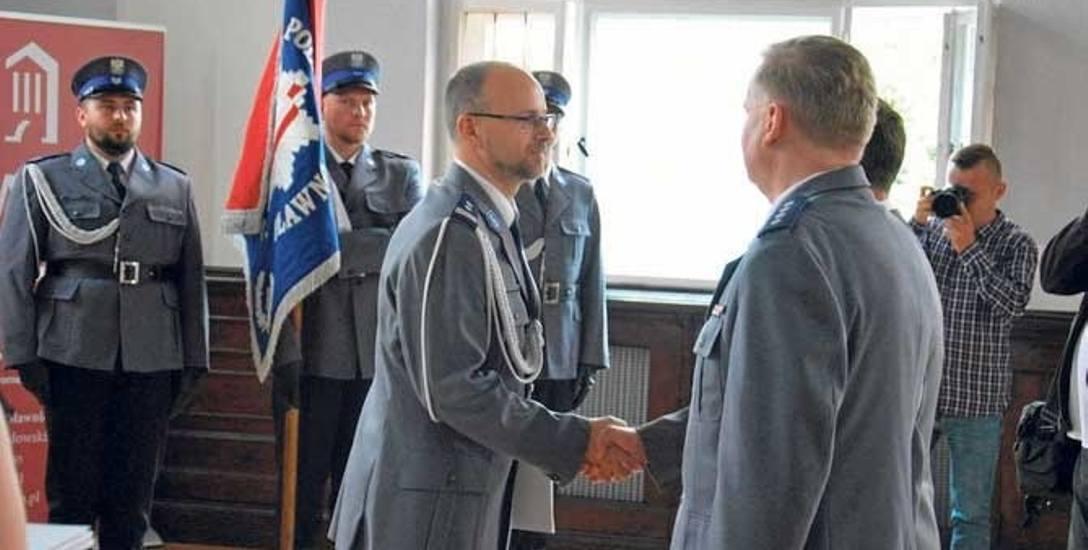 Obchody Święta Policji w Sławnie odbyły się w Sali Herbowej Urzędu Miejskiego w Sławnie