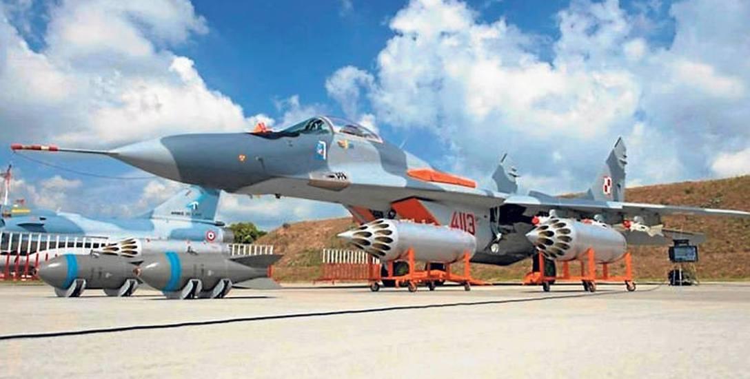 MiG-i 29 dla malborskiej bazy zostały kupione przez Polskę od Niemiec za symboliczne 1 euro. Dowództwo Generalne Rodzajów Sił Zbrojnych podaje, że docelowo
