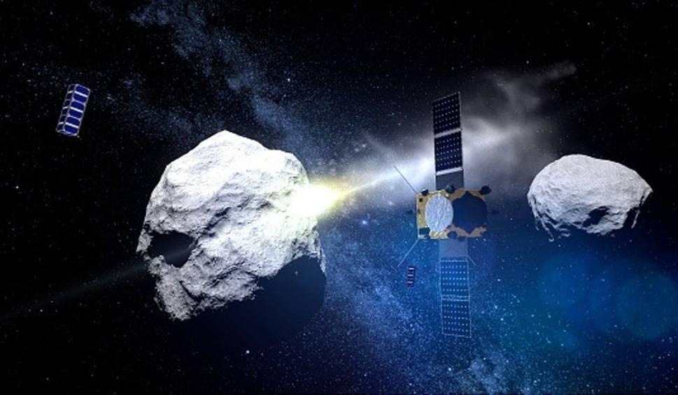 Film do artykułu: Asteroida Bennu uderzy w Ziemię. Sonda Osiris-Rex bada asteroidę. NASA zrezygnowało z broni jądrowej