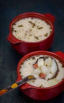 Zupa bryndzowa.
