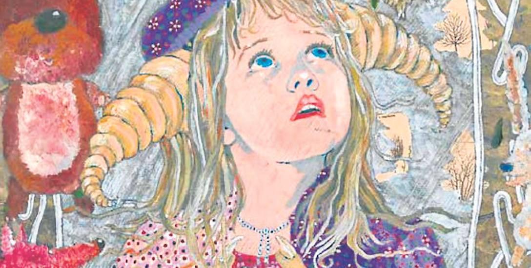 """Tii Metz stworzyła ilustrację do bajki """"Braciszek i siostrzyczka"""" i wykonała ją w ulubionej przez siebie technice kolażu"""