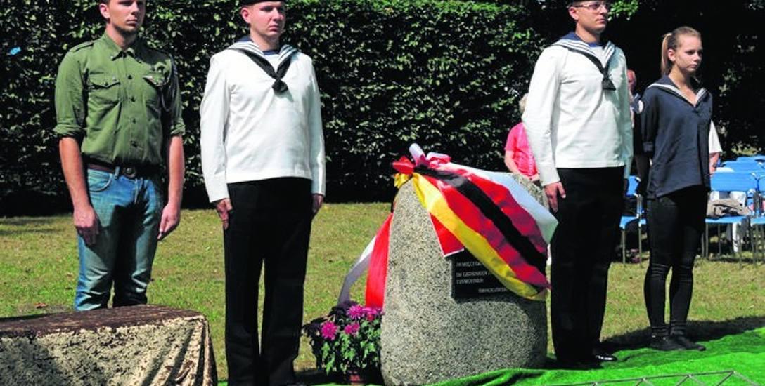 Na cmentarzu jest już m.in. pomnik pamięci dawnych mieszkańców