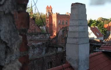Najwięcej pracy czeka nowych właścicieli ruin przy Podmurnej 7. Zapewne będą się oni ubiegali o dotacje w kolejnych latach