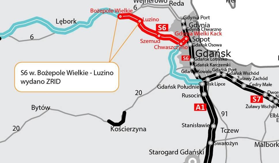 Film do artykułu: Budowa drogi S6. Kolejna decyzja dla Trasy Kaszubskiej