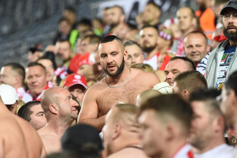 Kibice na meczu Izrael - Polska [GALERIA]
