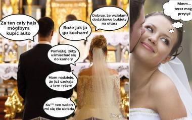 To najlepsze ŚLUBNE MEMY! Internauci nie mają litości i śmieją się z żon, mężów i... ślubów! 20.10.2020