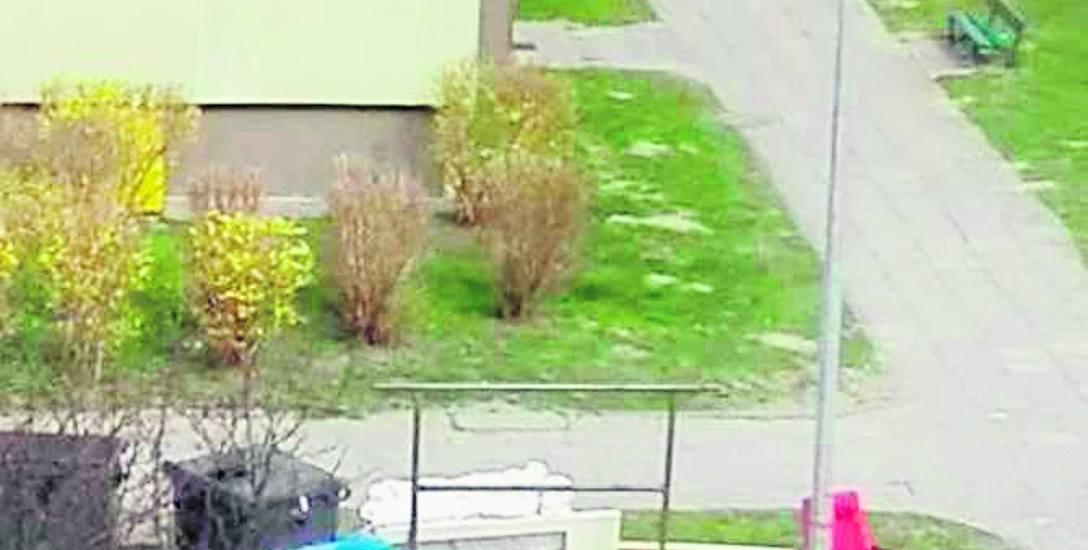 Odpady wielkogabarytowe przy ul. Andersa