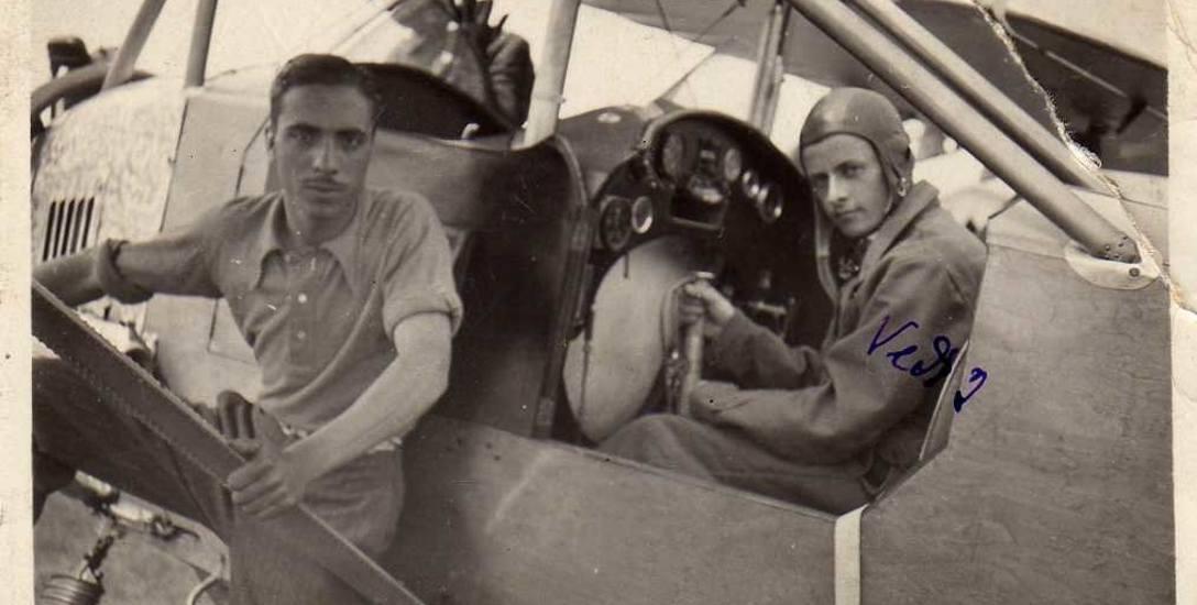 Ezio Micheli (po prawej) w 1939 r.