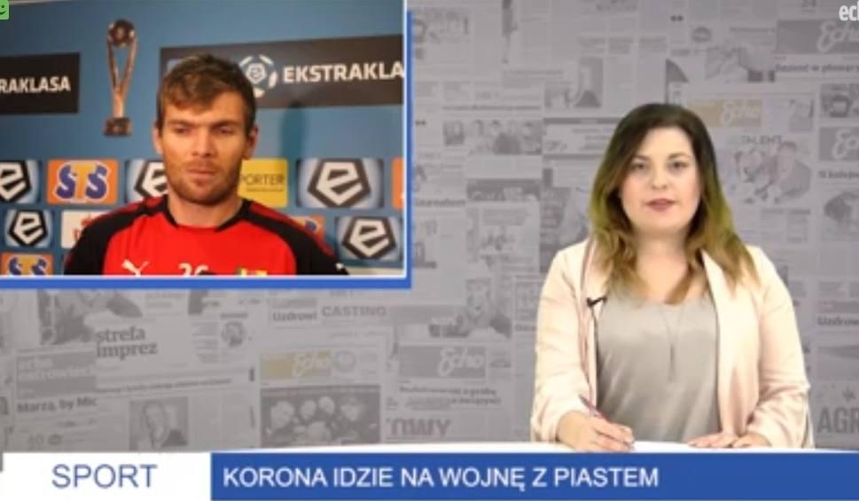 Film do artykułu: Wiadomości Sportowe Echa Dnia. Korona idzie na wojnę z Piastem