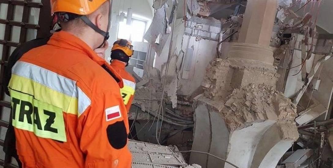 Katastrofa budowlana w Zamku Książąt Pomorskich. Nadal nikt nie wie dlaczego się zawaliło