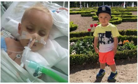 Staś Sobolewski już niedługo skończy 3-latka. Rozwijał się wspaniale, gdy nagle 15 sierpnia 2018 roku zachorował na bardzo ostre zapalenie opon mózgowych