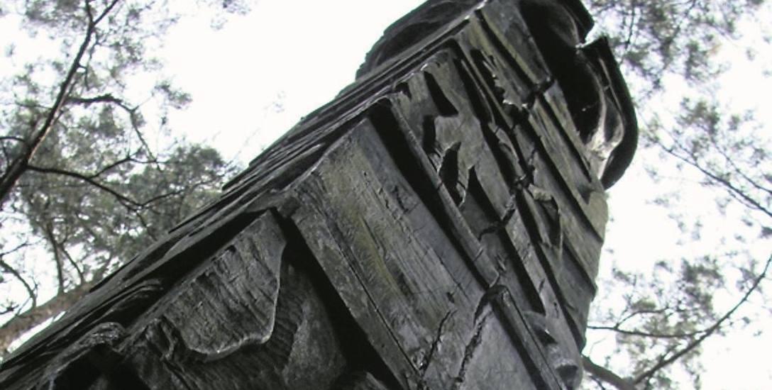 Rzeźba pogańskiego boga Światowida stała na Babiej Górze od 1998 r. Gdzie jest teraz - nie wiadomo.