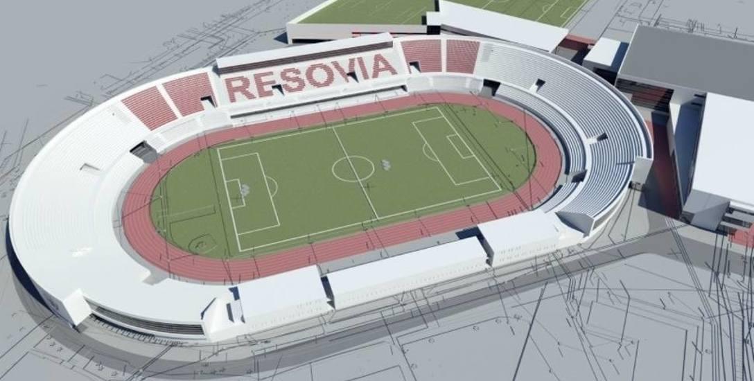 Po rozbudowie pojemność trybun stadionu miała się powiększyć do 6 tysięcy miejsc. W planach była także zadaszona bieżnia o długości 330 metrów oraz sala