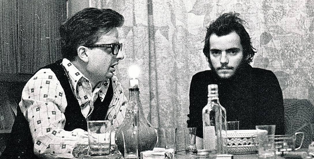 Rok 1977. Antoni Pawlak (bez brody!) na przepustce z wojska, z Maciejem Grzywaczewskim