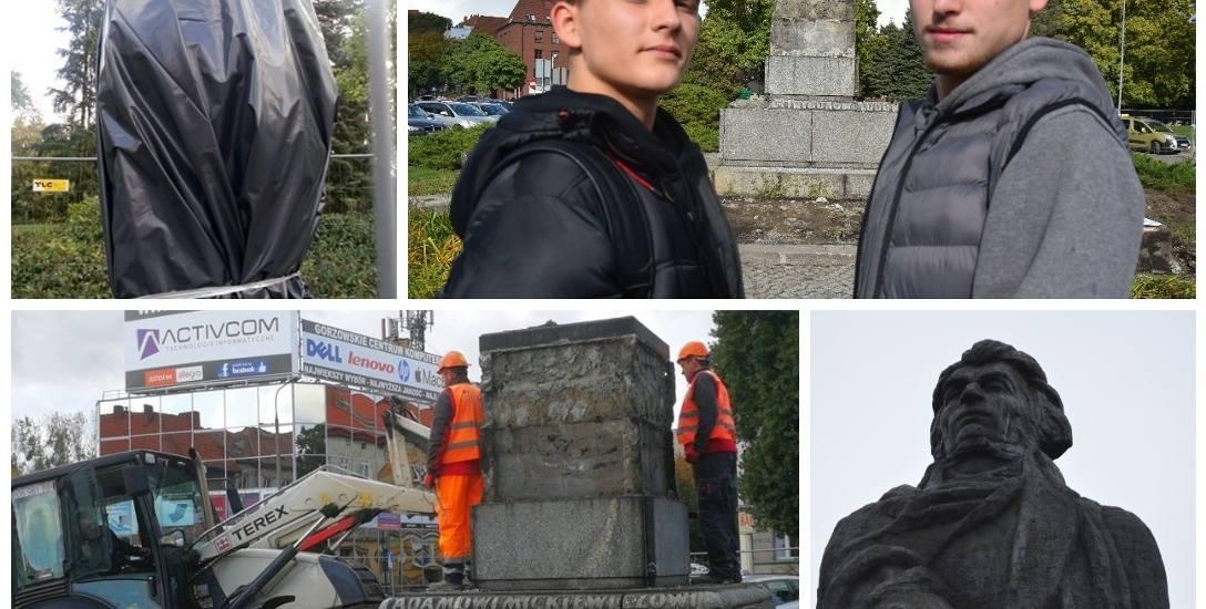 Historia to niesłychana, z pomnika zabrali Adama!