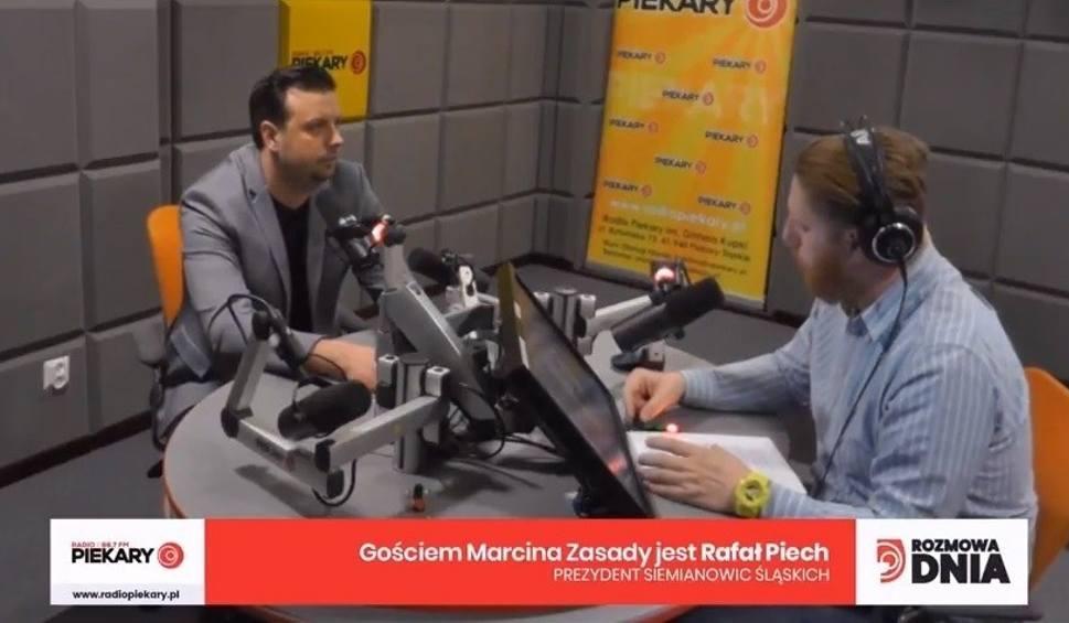 Film do artykułu: Rafał Piech: Prezydent polskiego miasta nie może zarabiać więcej niż 8700 zł na rękę. Gość Dnia Dziennika Zachodniego w Radiu Piekary