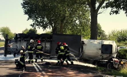 W piątek ok. godz. 11.30 na skrzyżowaniu drogi krajowej nr 6 z drogą wojewódzką nr 162 (okolice Ramlewa) doszło do wypadku. Samochód osobowy zderzył