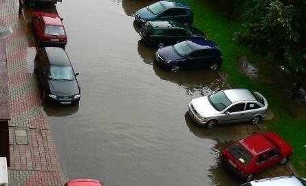 Parking przy Monte Cassino w Białymstoku