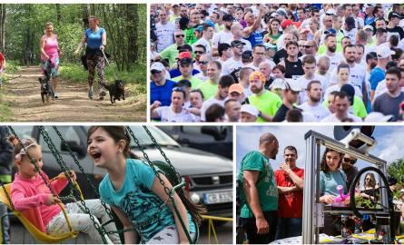 Miniony weekend obfitował w ciekawe wydarzenia w naszym regionie. Większość z nas spędziła ten czas aktywnie: biegając, jeżdżąc na rowerze, spacerując