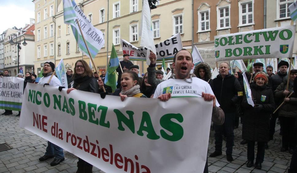 """Film do artykułu: Większe Opole. Protest przeciwników """"Planu Wiśniewskiego"""""""