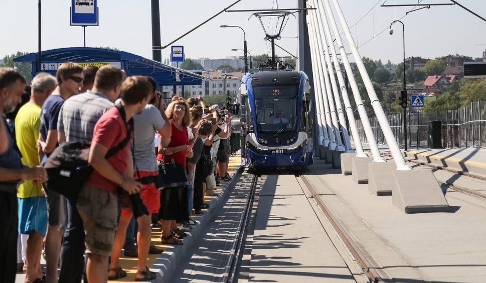 Uroczyste otwarcie estakady Lipska - Wielicka [ZDJĘCIA, WIDEO]