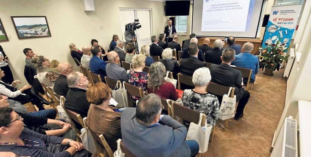 Wtorkowe spotkanie to zarazem inauguracja kampanii MWiK w Koszalinie