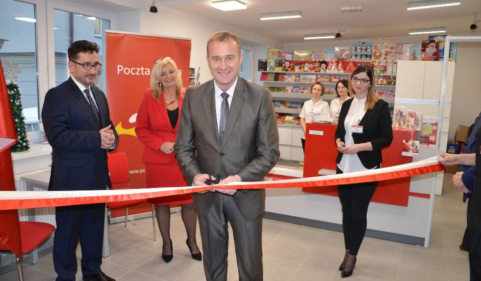 Film do artykułu: W gminie Górno oddano do po remoncie nowy budynek Poczty Polskiej