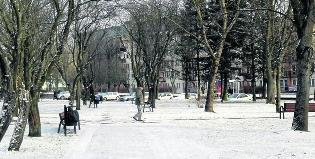 Park przy ul. Wazów nie jest zbyt duży, ale niewątpliwie cieszy  mieszkańców tego rejonu miasta.