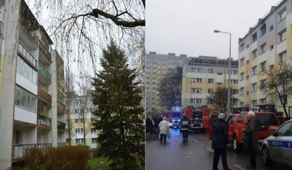 Film do artykułu: Radogoszcz: Dramatyczny pożar podczas balangi. Mężczyzna ratował się skokiem z IV piętra  [zdjęcia, FILM]