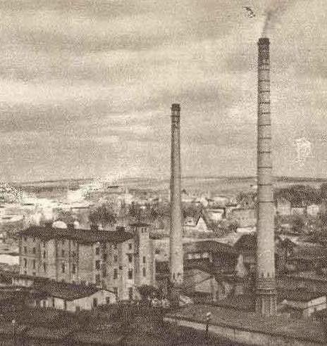 Głuchołazy w 1948 roku. Znowu dymią kominy fabryki papieru