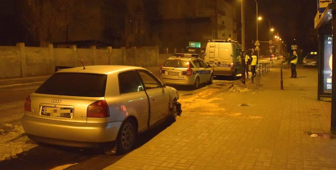 Wypadek na ulicy Sienkiewicza. Pijana para w audi. Kto kierował samochodem osobowym?