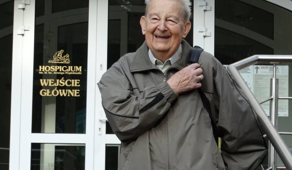 Film do artykułu: Tadeusz Centek z Bydgoszczy nie żyje. Miał 97 lat. Był prawdopodobnie najstarszym wolontariuszem w Polsce