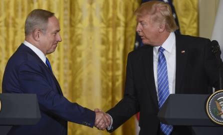 Donald Trump: Utworzenie dwóch państw - Izraela i Palestyny, to wcale nie jedyne rozwiązanie