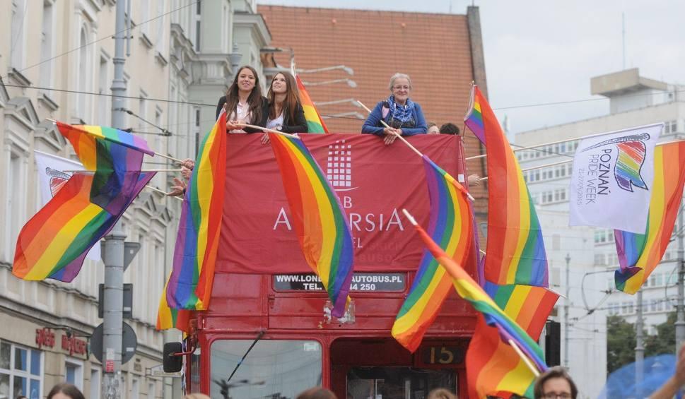 26.09.2015 poznan lg marsz rownosci parada. glos wielkopolski. fot. lukasz gdak/polska press