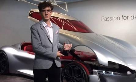 Jakub Fochtman zaprojektował wnętrze SUV-a Renault