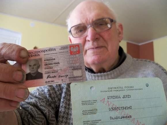 Georg Paul Strzoda z Błażejowic koło Głogówka miał zaledwie kilka lat, gdy władze zmusiły jego rodziców do zmiany imion dziecku na Jerzy Paweł. Siedem