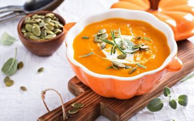 Zupa-krem z dyni.