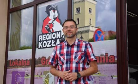 Witold Silski, prezes zarządu Lokalnej Grupy Działania Regionu Kozła