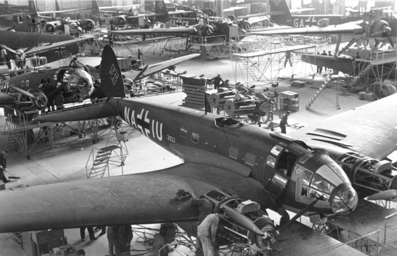 Produkcja bombowca Heinkel He 111