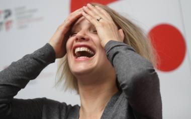 08.05.2012.gdynia nz. joanna kulig aktorka z filmu sponsoring konferencja prasowa po filmie 37 festiwal polskich filmow fabularnych fot. tomasz bolt