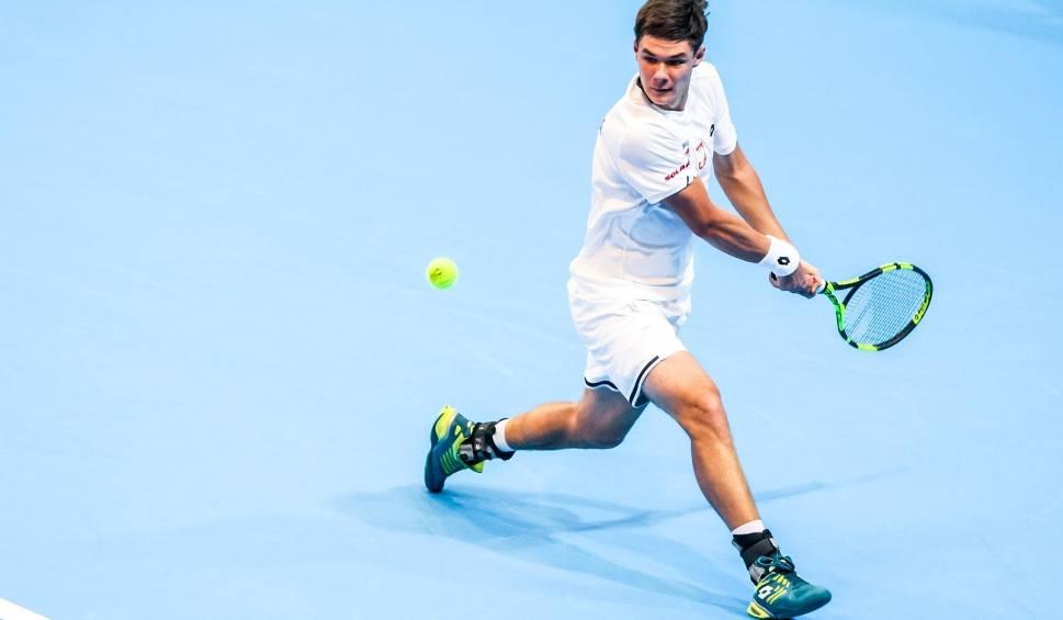 Film do artykułu: Kamil Majchrzak podwójnym triumfatorem turnieju Kozerki Open. Wygrał w singlu i w deblu. Wśród pań najlepsza była Anastazja Szoszyna