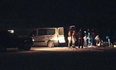Ciało kobiety znaleziono na drodze między Gąskowem a Rusowem