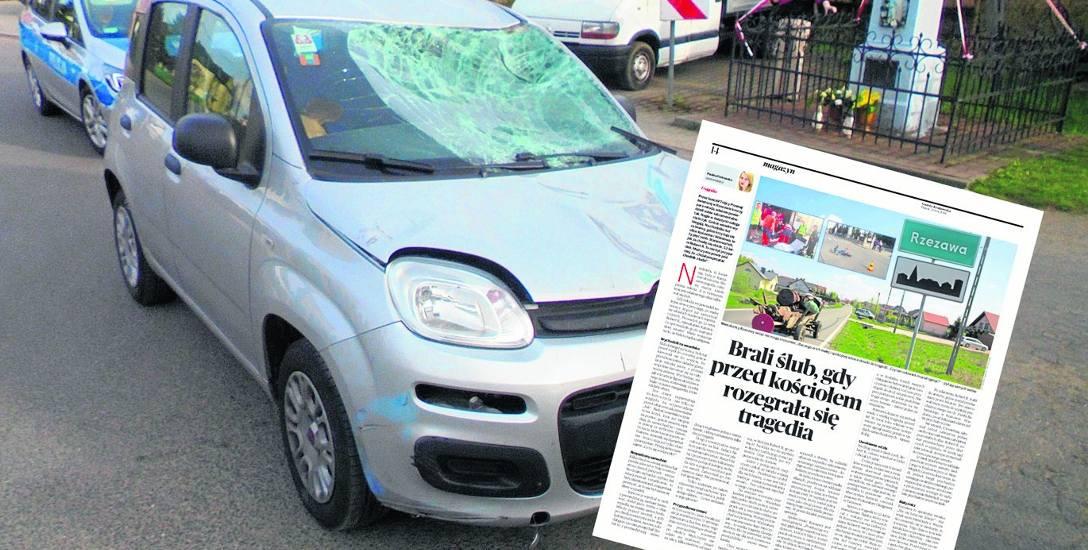 Samochód na włoskich numerach został użyty jako narzędzie zbrodni przez Roberta R., zawodowego taksówkarza z Katowic